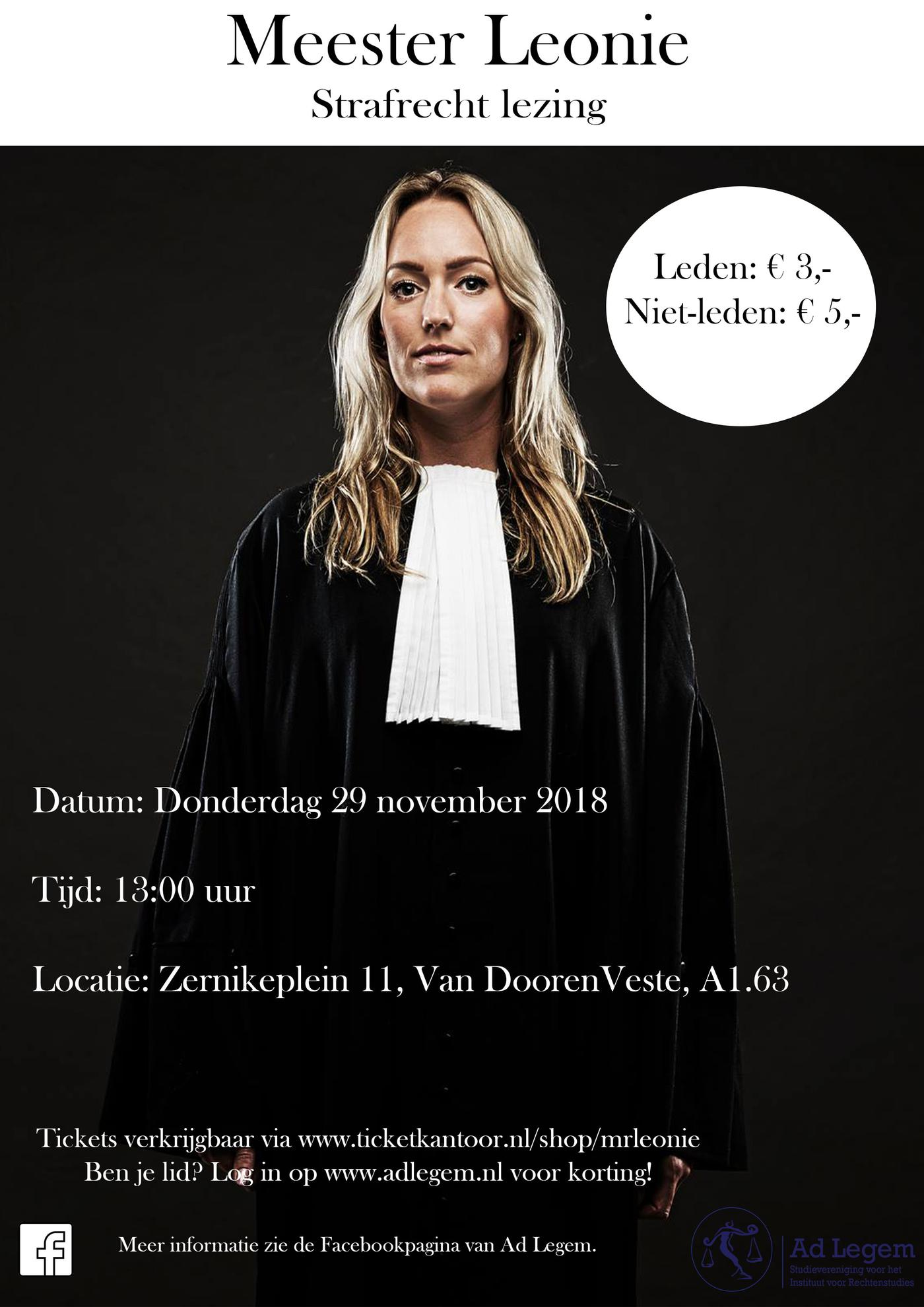 Mr. Leonie - Strafrecht lezing